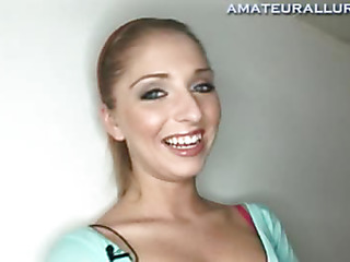 This little cutie is twenty years old and a student at a nearby university. This Babe is on the cheerleading squad and enjoys skiing and engulfing wang. Since we aren't close to the slopes I decided to have her show me how this babe likes to suck ramrod by engulfing off my neighbour.