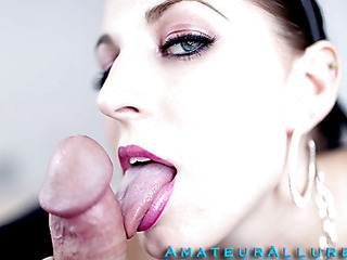 Racquel is a maid that breaks a vase and is in some serious trouble. that hottie must engulf and fuck her boss so his wife won't find out and fire her. This Babe gives him a very wet and messy oral-service and that hottie deep mouths his jock like a pro. That guy copulates her constricted shaved vagina as this hottie moans wildly whilst her large milk cans are bouncing.
