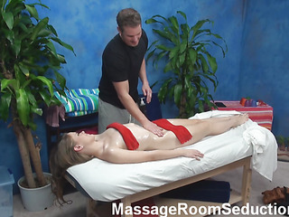 Wanna examine unforgettable pounding after precious intimate massage? Then u are in the right place! Check up how attractive muscle dude fondles body of chick before drilling her snatch so well!