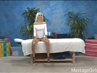Sexy 18 year old angel gets fucked hard by her massage therapist!
