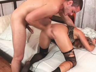 The hottie could get strong orgasms merely from anal fucking