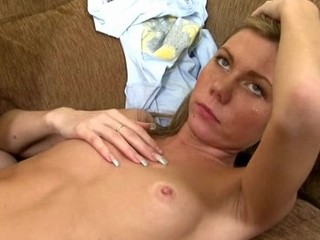 Gorgeous darling receives lusty plowing from horny dude