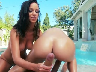 Two of the greatest butts of the industry, jointly in one scene. They know how to shake it, how to engulf it and how to fuck it! Those 2 beauties are incredibly hawt, and when they are jointly they make the consummate match!