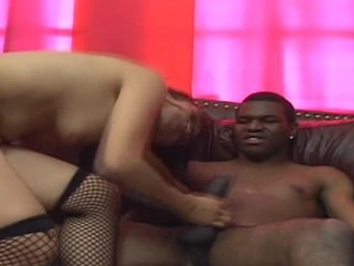Gorgeous whore is fucked in backdoor after giving fine blow