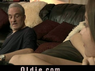 Mika is no more that little angel who old guy David knew about. That Honey is now a youthful beautiful gal who found sex and search dicks for fuck. His old dick is ideal to experiences a youthful anal opening