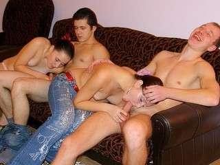 Those filthy and messy-minded juvenile student gals and boyz know the almost any good way to relax after classes!
