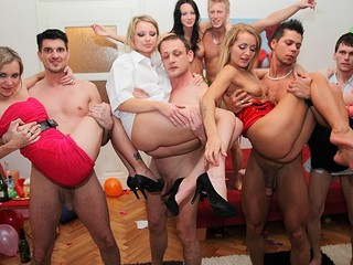 Even precious and decent angels turn into hot college sluts at student sex parties! Watch what they're capable of!